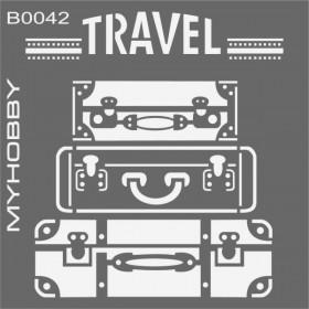 MyHobby Stencil Şablon 30x30cm B0042