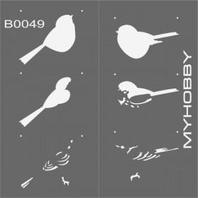 MyHobby Stencil Şablon 30x30cm B0049