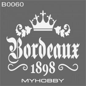MyHobby Stencil Şablon 30x30cm B0060