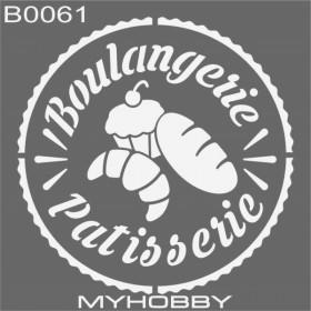 MyHobby Stencil Şablon 30x30cm B0061