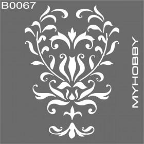 MyHobby Stencil Şablon 30x30cm B0067