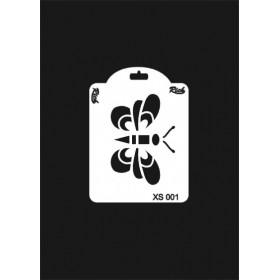 Rich XS Serisi Stencil 14x10cm XS 001