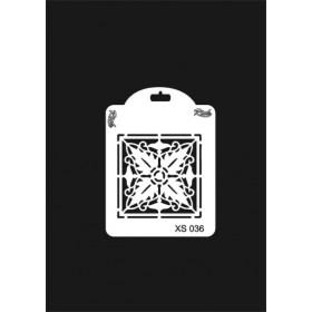 Rich XS Serisi Stencil 14x10cm XS 036