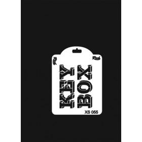 Rich XS Serisi Stencil 14x10cm XS 055