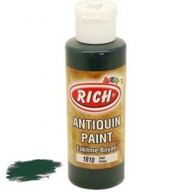 Rich 1610 Yeşil 130 ml Antiquing Eskitme Ahşap Boyası