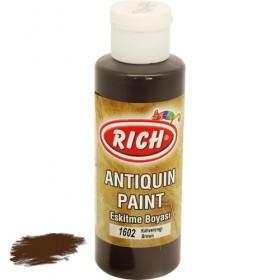 Rich 1602 Kahverengi 130 ml Antiquing Eskitme Ahşap Boyası