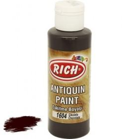 Rich 1604 Çikolata 130 ml Antiquin Eskitme Ahşap Boyası