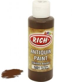 Rich 1601 Açık Kahve 130 ml Antiquin Eskitme Ahşap Boyası
