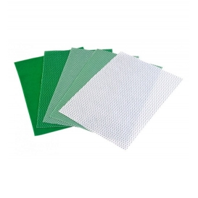 Lino Yeşil Keçe 5 Desen 10'lu Paket - 20x30cm