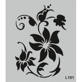 L101 Stencil 20x24 cm