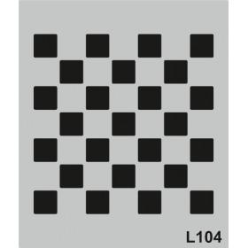 L104 Stencil 20x24 cm