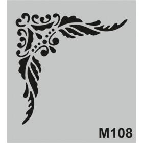 M108 Stencil 14x20 cm