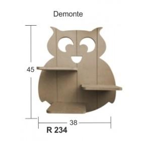 Baykuş Raf (Demonte) 45x38cm