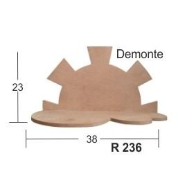 Güneş Raf (Demonte) 38x23cm