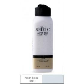 3008 Kotton Beyaz Artdeco Yeni Formül Akrilik Boya 140 ml