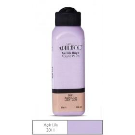 3011 Açık Lila Artdeco Yeni Formül Akrilik Boya 140 ml
