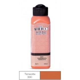 3041 Terrakota Artdeco Yeni Formül Akrilik Boya 140 ml