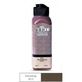 3615 Kahverengi Artdeco Yeni Formül Akrilik Boya 140 ml