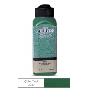 3037 Çuha Yeşili Artdeco Yeni Formül Akrilik Boya 140 ml