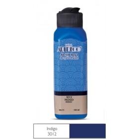 3012 İndigo Artdeco Yeni Formül Akrilik Boya 140 ml