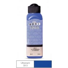 3013 Ultramarin  Artdeco Yeni Formül Akrilik Boya 140 ml