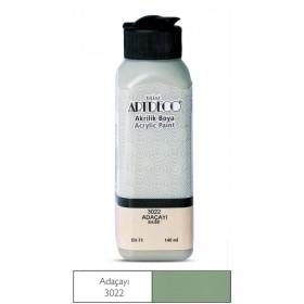 3022 Adaçayı Artdeco Yeni Formül Akrilik Boya 140 ml