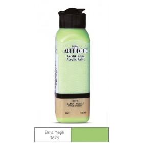 3673 Elma Yeşili Artdeco Yeni Formül Akrilik Boya 140 ml