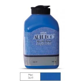 Artdeco 500ml 3610 Mavi Akrilik Boya