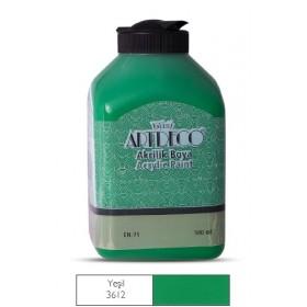 Artdeco 500ml 3612 Yeşil Akrilik Boya