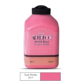 Artdeco 500ml 3017 Sıcak Pembe Akrilik Boya