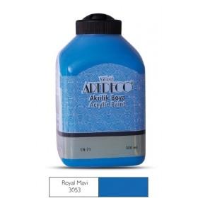 Artdeco 500ml 3053 Rolay Mavi Akrilik Boya