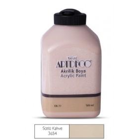 Artdeco 500ml 3654 Sütlü Kahve Akrilik Boya