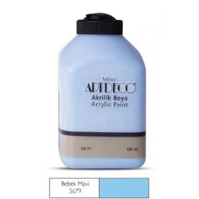 Artdeco 500ml 3679 Bebek Mavi Akrilik Boya