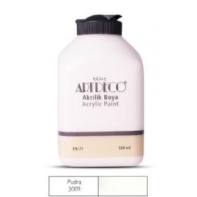 Artdeco 500ml 3009 Pudra Akrilik Boya