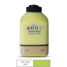 Artdeco 500ml 3659 Fıstık Yeşili Akrilik Boya