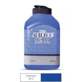 Artdeco 500ml 3013 Ultramarine Akrilik Boya
