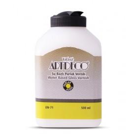 Artdeco EKONOMİK Su Bazlı PARLAK Vernik 500 ML