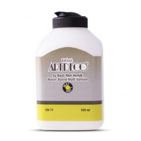Artdeco EKONOMİK Su Bazlı YARIMAT Vernik 500 ML