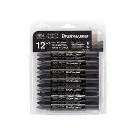 Winsor & Newton ProMarker Kalem 24 Renk Çantalı Set