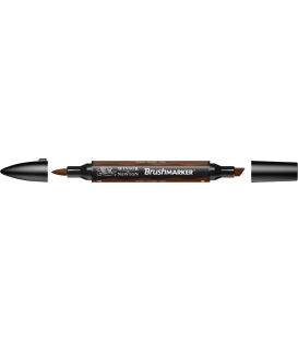 Winsor & Newton BrushMarker Kalem Burnt Orange 092