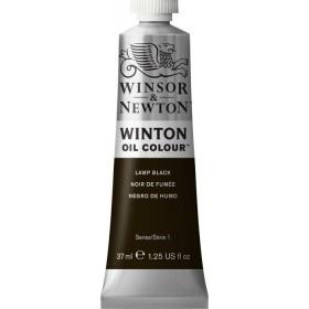 25 LAMP BLACK Winsor & Newton Winton Yağlı Boya 37 ml.