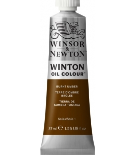 3 BURNT UMBER Winsor & Newton Winton Yağlı Boya 37ml