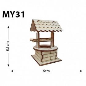 Su Kuyusu Minyatür Ahşap Obje MY31