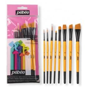 Pebeo 8'li Karma Fırça Seti SET-6