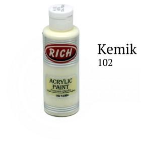 Rich 102 Kemik 130 ml Ahşap Boyası
