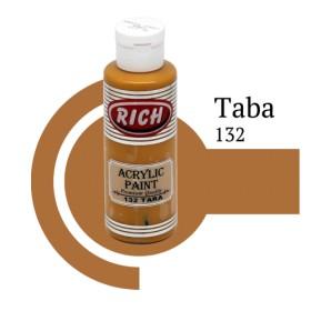 Rich 132 Taba 130 ml Akrilik Boya