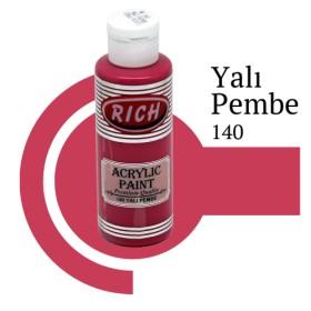 Rich 140 Yalı Pembe 130 ml Ahşap Boyası