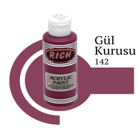 Rich 142 Gül Kurusu 130 ml Ahşap Boyası