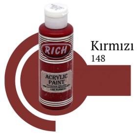 Rich 148 Kırmızı 130 ml Ahşap Boyası