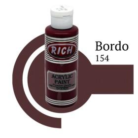 Rich 154 Bordo 130 ml Ahşap Boyası